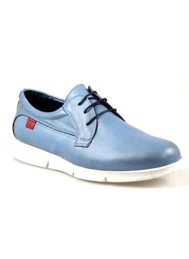 Darkwood 80203 Erkek Mavi Günlük Ayakkabı Mavi